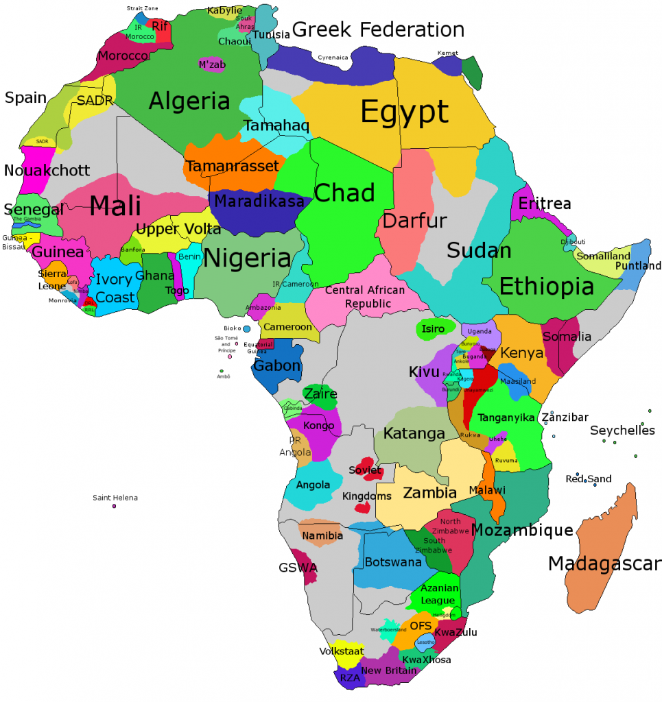 AS Groups | International Angelman Day African Countries Map