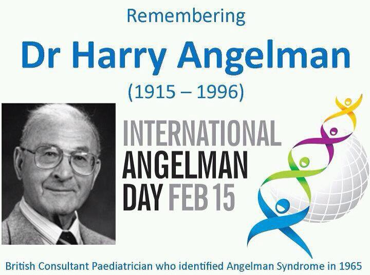 harry angelman and iad international angelman day
